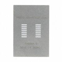 Chip Quik Inc. - PA0004-S - SOIC-14 STENCIL