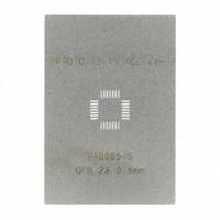 Chip Quik Inc. - PA0065-S - QFN-28 STENCIL