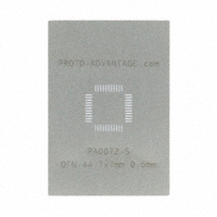 Chip Quik Inc. - PA0072-S - QFN-44 STENCIL