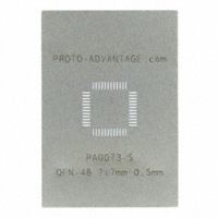 Chip Quik Inc. - PA0073-S - QFN-48 STENCIL
