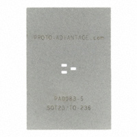 Chip Quik Inc. - PA0083-S - SOT23/TO-236 STENCIL