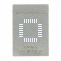 Chip Quik Inc. - PA0106-S - PLCC-28/LCC-28/JLCC-28 STENCIL