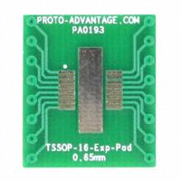 Chip Quik Inc. - PA0193 - TSSOP-16-EXP-PAD TO DIP-16 SMT