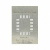 Chip Quik Inc. - PA0214-S - PLCC-32 STENCIL