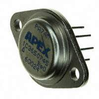 Apex Microtechnology - PA74M - IC OPAMP POWER 1.4MHZ TO3-8