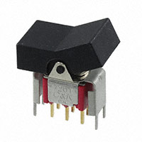 C&K - 7201J3V6BE2 - SWITCH ROCKER DPDT 0.4VA 20V