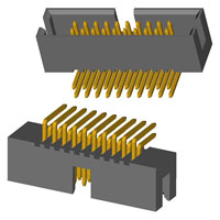 "CNC Tech - 3221-20-0200-00 - IDC BOX HEADER .050"" 20 POS"