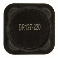 Eaton - DR127-220-R - FIXED IND 22UH 4A 39.1 MOHM SMD