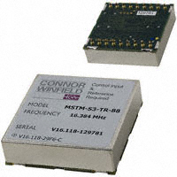 Connor-Winfield - MSTM-S3-TR-16.384M - IC CLK TIME MODULE ETHERNET