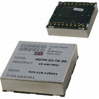 Connor-Winfield - MSTM-S3-TR-19.44M - IC CLK TIME MODULE ETHERNET