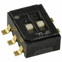 Copal Electronics Inc. - CAS-D20TB - SWITCH SLIDE SPDTX2 100MA 6V