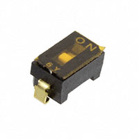 Copal Electronics Inc. - CFS-0100MA - SWITCH DIP SPST 100MA 6V