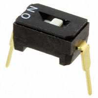 Copal Electronics Inc. - CFS-0101MC - SWITCH DIP SPST 100MA 6V