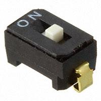 Copal Electronics Inc. - CFS-0102MA - SWITCH DIP SPST 100MA 6V