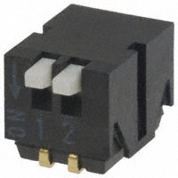 Copal Electronics Inc. - CHP-021TA - SWITCH PIANO DIP SPST 100MA 6V
