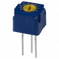 Copal Electronics Inc. - CT6EW102 - TRIMMER 1K OHM 0.5W TH