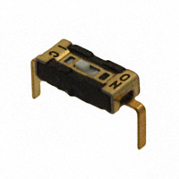 Copal Electronics Inc. - CVS-01C - SWITCH SLIDE DIP SPST 100MA 6V