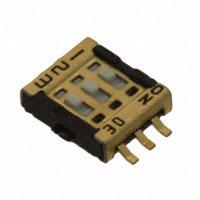 Copal Electronics Inc. - CVS-03TB - SWITCH SLIDE DIP SPST 100MA 6V