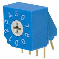 Copal Electronics Inc. - S-2031A - SW ROTARY DIP BCD COMP 100MA 5V