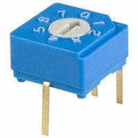 Copal Electronics Inc. - S-8030 - SW ROTARY DIP OCT COMP 100MA 5V