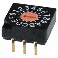 Copal Electronics Inc. - SD-1030 - SW ROTARY DIP HEX COMP 100MA 5V