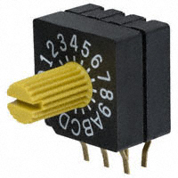 Copal Electronics Inc. - SD-1111 - SWITCH ROTARY DIP HEX 100MA 5V