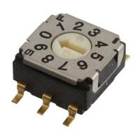 Copal Electronics Inc. - SH-7030TB - SW ROTARY DIP BCD COMP 100MA 5V