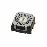 Copal Electronics Inc. - SH-7050TA - SWITCH ROTARY DIP HEX 100MA 5V