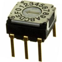 Copal Electronics Inc. - SH-7070MC - SW ROTARY DIP HEX COMP 100MA 5V