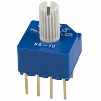 Copal Electronics Inc. - SS-10-16NP-LE - SWITCH ROTARY DIP SP6T 100MA 5V