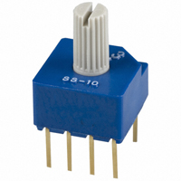 Copal Electronics Inc. - SS-10-23NP-LE - SWITCH ROTARY DIP DP3T 100MA 5V