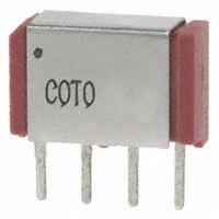Coto Technology - 9011-05-10 - RELAY REED SPST 250MA 5V